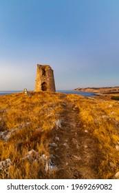 Landscape near Torre Sant Emiliano, Otranto, Salento coast, Apulia region, Italy - Shutterstock ID 1969269082