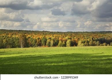 Landscape near Yasnaya Polyana - Bright Glade homestead. Tula oblast. Russia