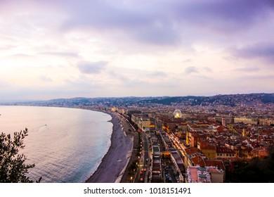 Landscape of Nice - France