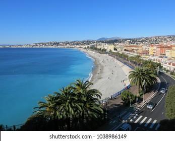 Landscape of Nice, France