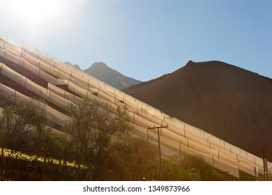 Landscape of North Chile. Elqui Valley.