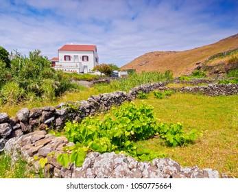 Landscape of the north, Santa Maria Island, Azores, Portugal