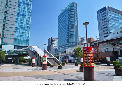 Landscape of the north side of the electric street exit of Akihabara Station