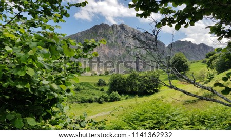Landscape North of Spain, Asturias