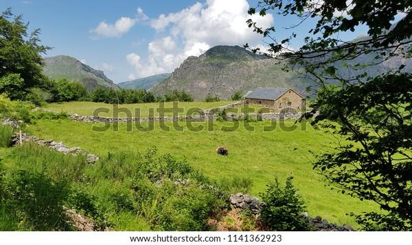 Landscape North of Spain, Asturias
