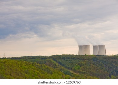 landscape with nuclear power