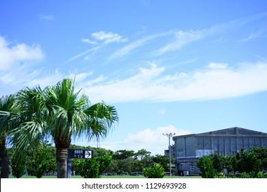 Landscape in Okinawa