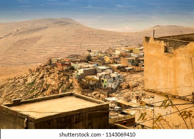 Landscape of a old city in   the middle east . Mardin is a historical city in Southeastern Anatolia, Turkey.
