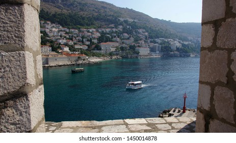 The landscape of old town in Dubrovnik
