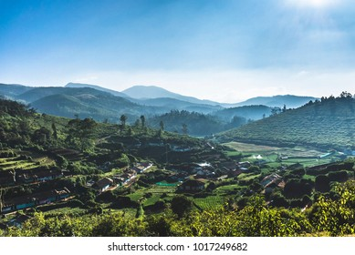 Landscape of Ooty, India