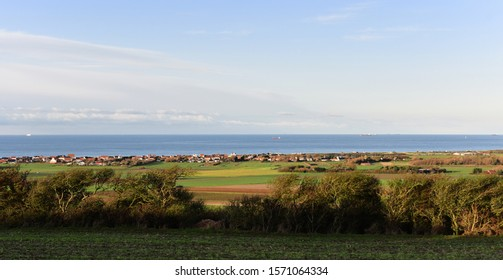 landscape of opal coast under the sun
