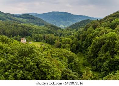 Landscape of Ore Mountains (Krusne hory) in the Czech Republic - Shutterstock ID 1433072816
