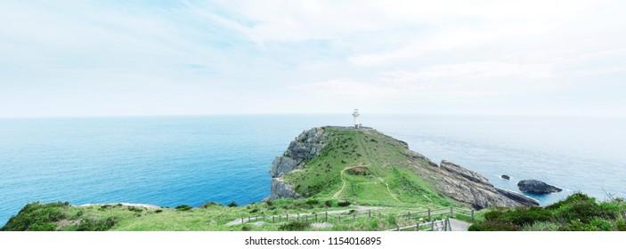 landscape of Osezaki cape