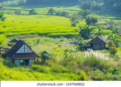 The landscape of Pang Ung, Mae Hong Son, Thailand