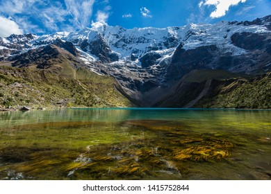 Landscape Peru from Salkantay,Chonta, Ancasqocha lake,Machupicchu ,waynapicchu,sunset around the sacred valley of the incas