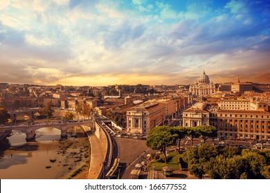Landscape photo of rome
