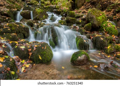 Landscape photograph of yedigoller waterfalls.