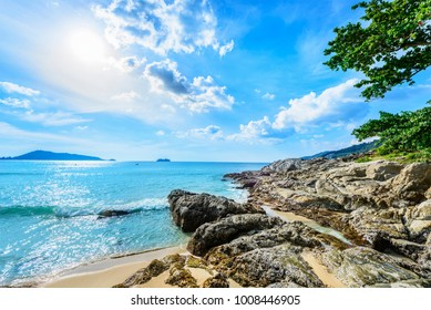Landscape of Phuket. Located in Patong Beach, Phuket, Thailand.