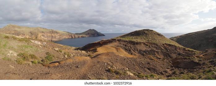 Landscape at pico da Furado in Madeira island