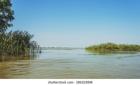 landscape picture taken in the Danube delta