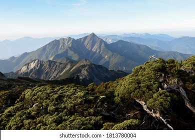 Landscape pictures in Nanhu Mountain, Mount Chung Yang , Taroko National Park, Heping District, Taichung, Taiwan