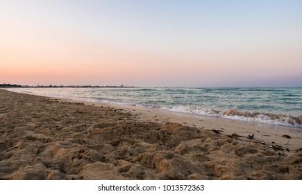 Landscape of Porto Cesareo bay, Salento, Puglia