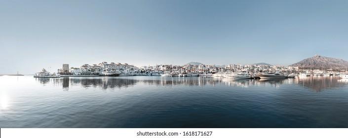 Paisaje en Puerto Banús, Marbella