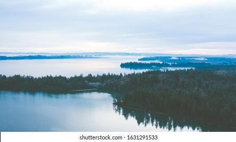 Landscape of Puget Sound Washington State