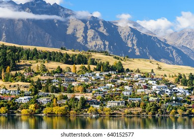 Landscape of Queenstown, New Zealand