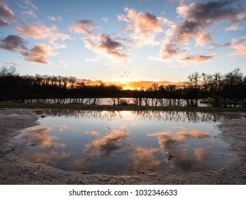 Landscape with reflection