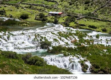 Landscape reserve Nor Yauyos Cochas - Huancaya, Peru