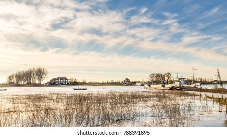 Landscape Rhine, Netehrlands