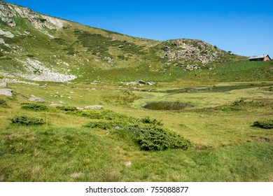 Landscape of Rila Mountan near, The Seven Rila Lakes, Bulgaria