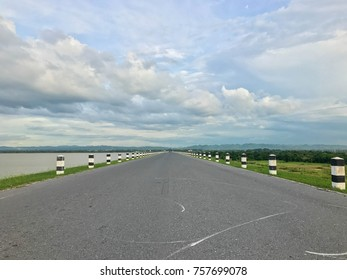 landscape road way