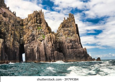 Landscape of the Rock Citadels in Ireland