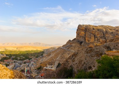 Landscape of the rock in Syria