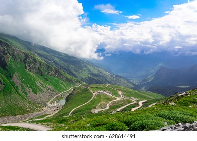 Landscape of Rohtang Pass