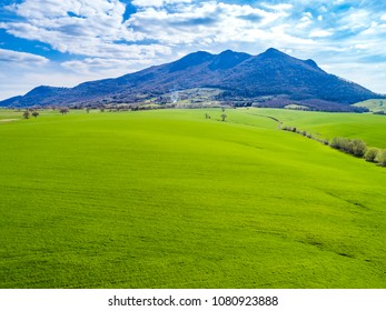 Landscape of the Roman countryside in italy