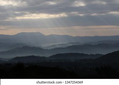Landscape Rwanda, Africa