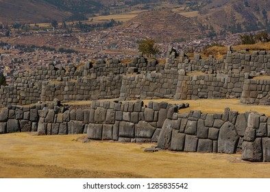 Landscape of Sacsayhuaman Remains at Cusco