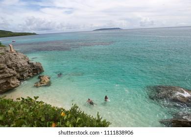 Landscape of Saipan Island