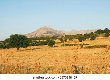 landscape, Samothraki Island, Greece