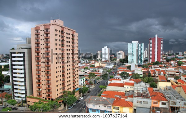 Landscape Sao Caetano Do Sul City Business Finance Stock Image 1007627164