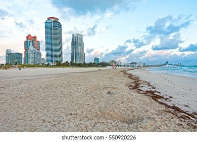 Landscape Scene South Beach Miami Florida