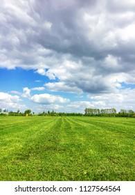 A landscape scene from Suffolk, UK