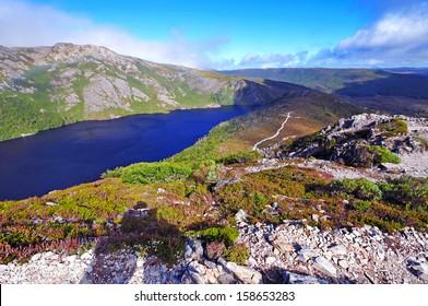 Landscape Scenery of Cradle Mountain National Park, Tasmania, Australia