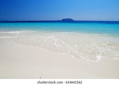 Landscape of sea in the Andaman Sea, Myanmar