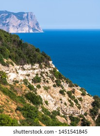 Landscape of the sea coast in a Crimea. Aya Cape