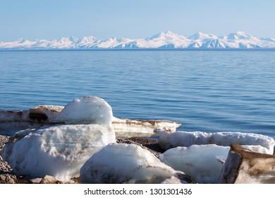 Landscape the Sea of Okhotsk, Magadan, Russia