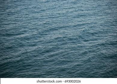 Landscape sea without horizon